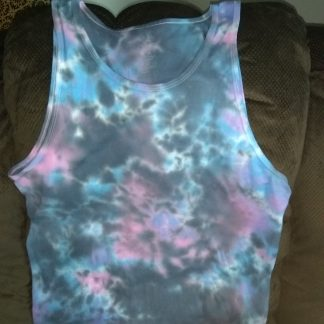Ice Dyed Tank Top L