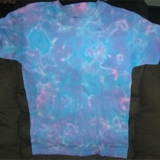 Cosmic Vibrations Tie Dye T Shirt Size S