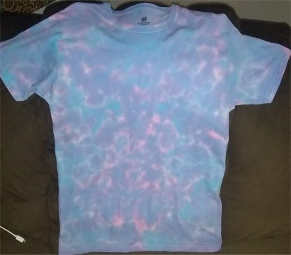 Cosmic Vibrations Tie Dye T Shirt Size: M