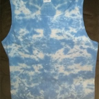 Electric Clouds Tie Dye Tank Top Size: S