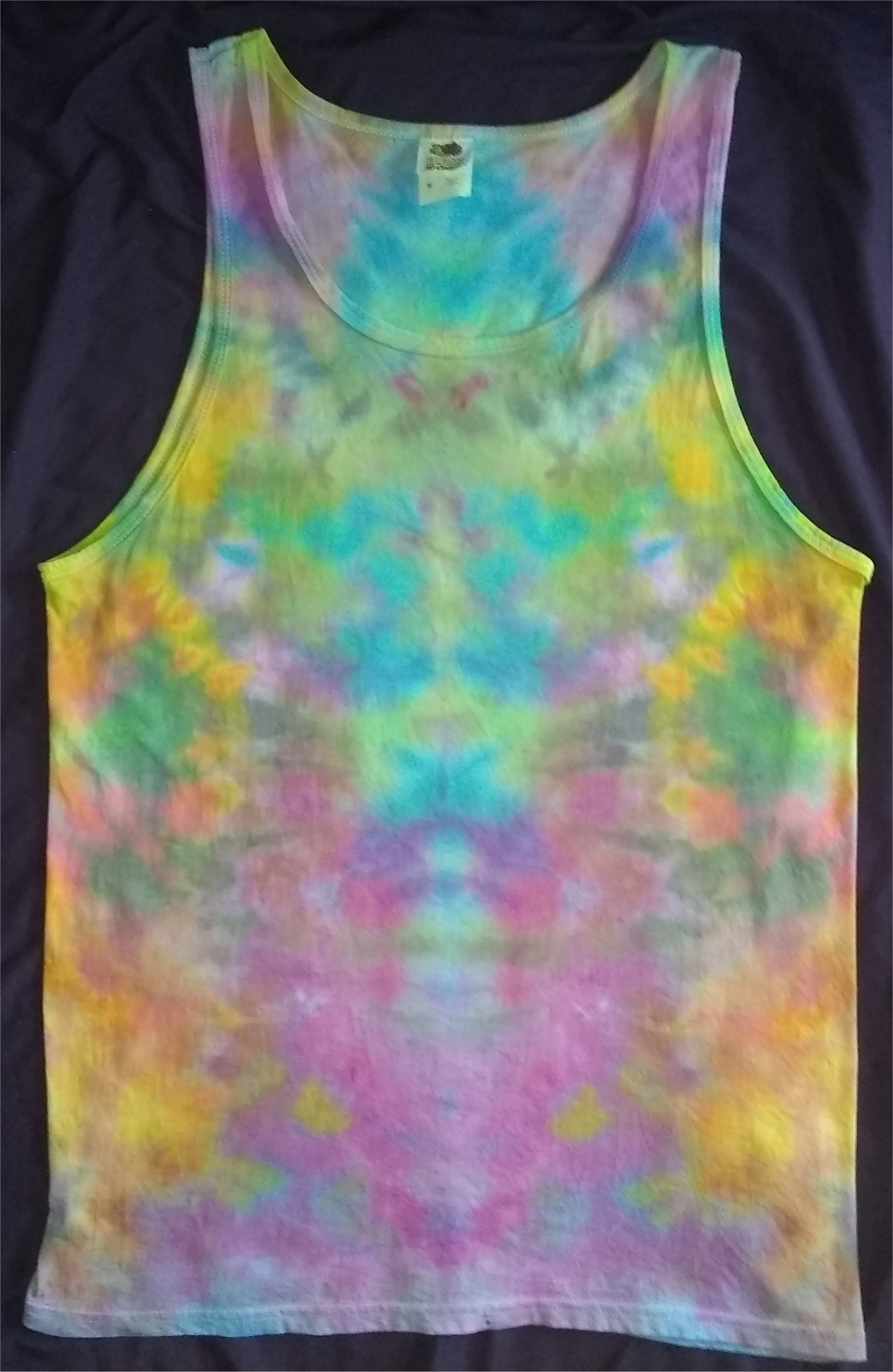 Eternal Realm Ice Dye Tank Top Size M