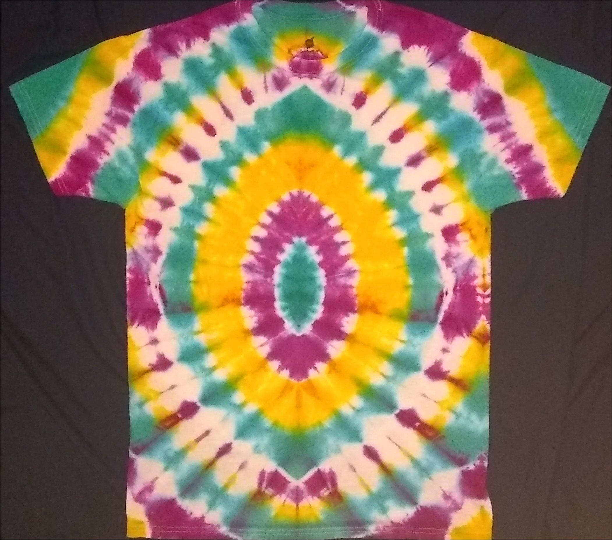 5D Portal Tie Dye Size M