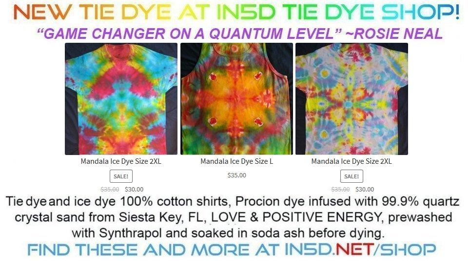 New Tie Dye Shirts