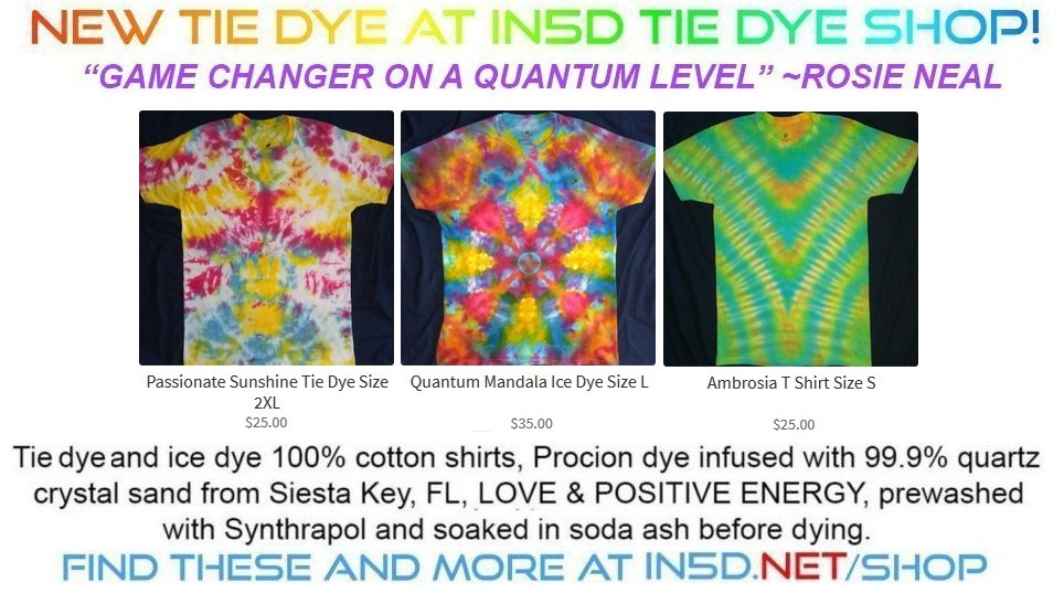 New Tie Dye Shirts - August 27, 2019