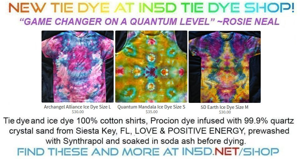 New Quantum Tie Dye Shirts September 17, 2019