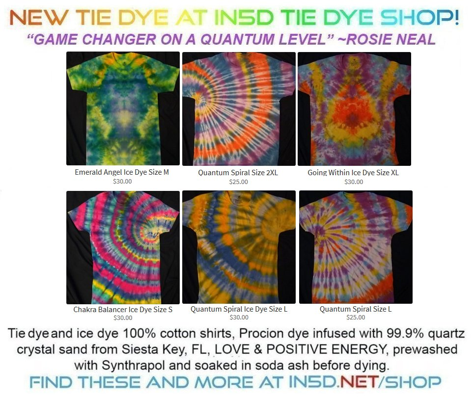 New Quantum Tie Dye Shirts September 22, 2019