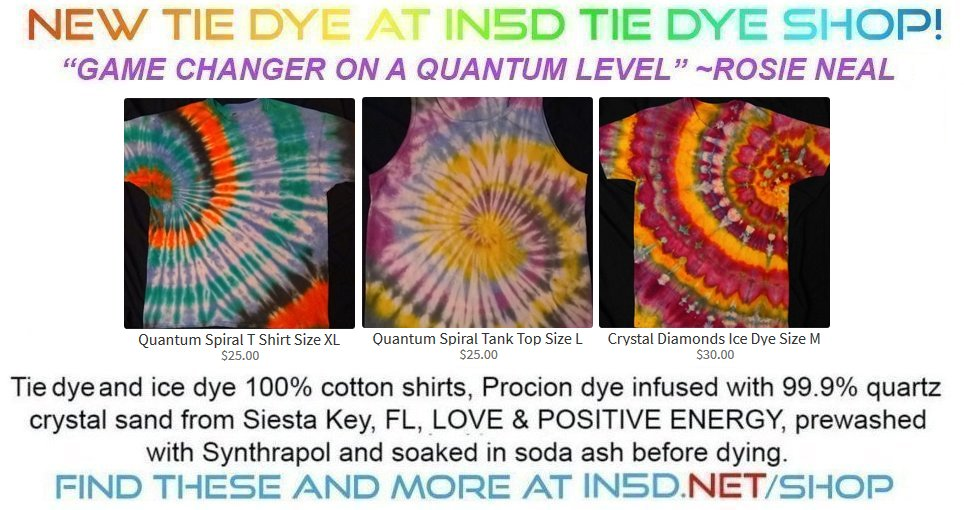 New Quantum Tie Dye Shirts September 21, 2019