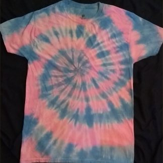 Cotton Candy Spiral Size