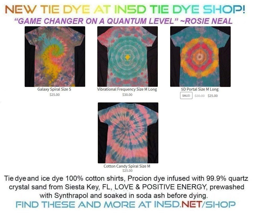 New Quantum Tie Dye Shirts November 27, 2019