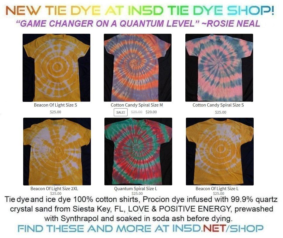 New Quantum Tie Dye Shirts November 25, 2019