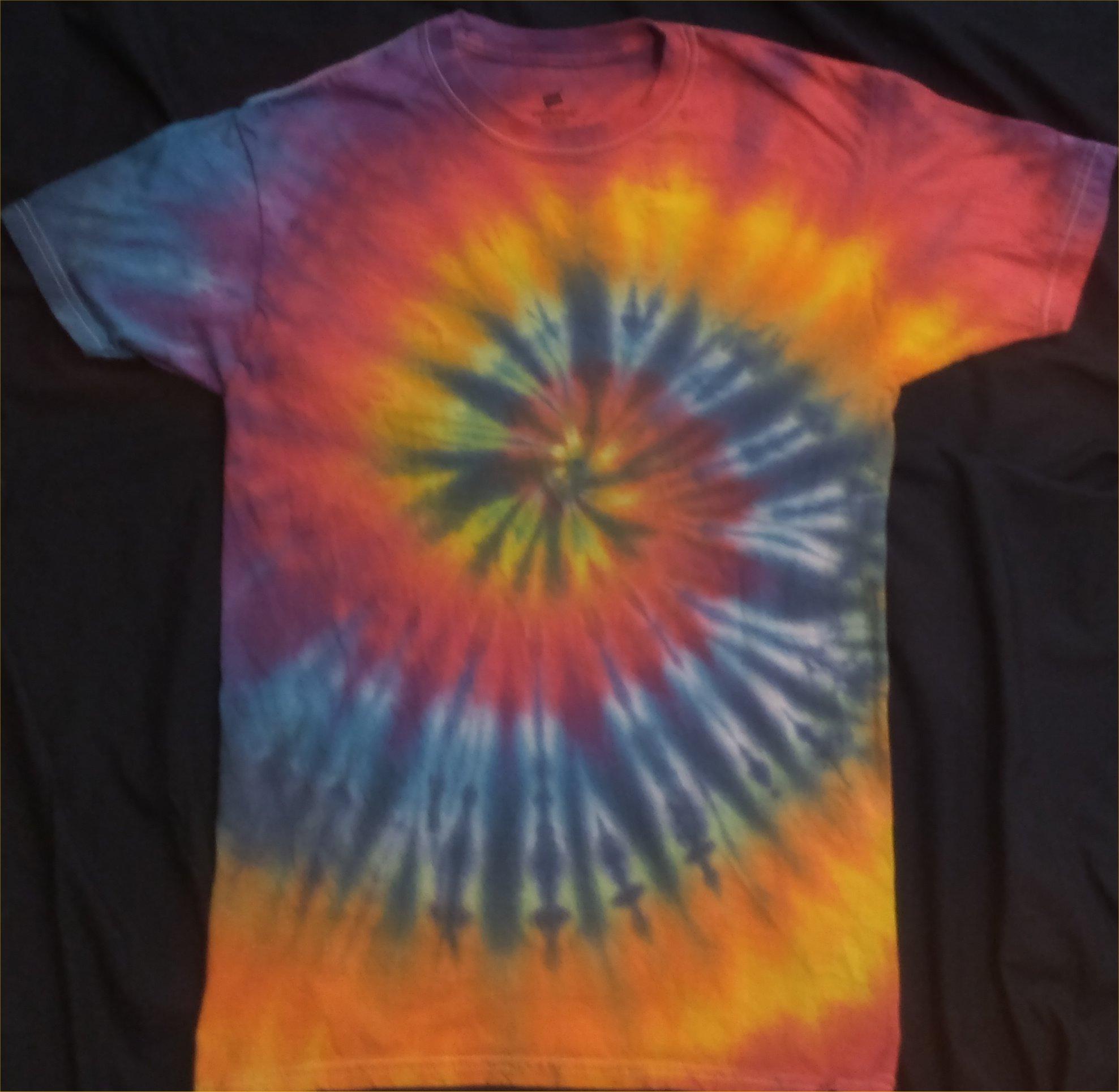 ALL Chakras Quantum Crystal & Gemstones T Shirt Size S