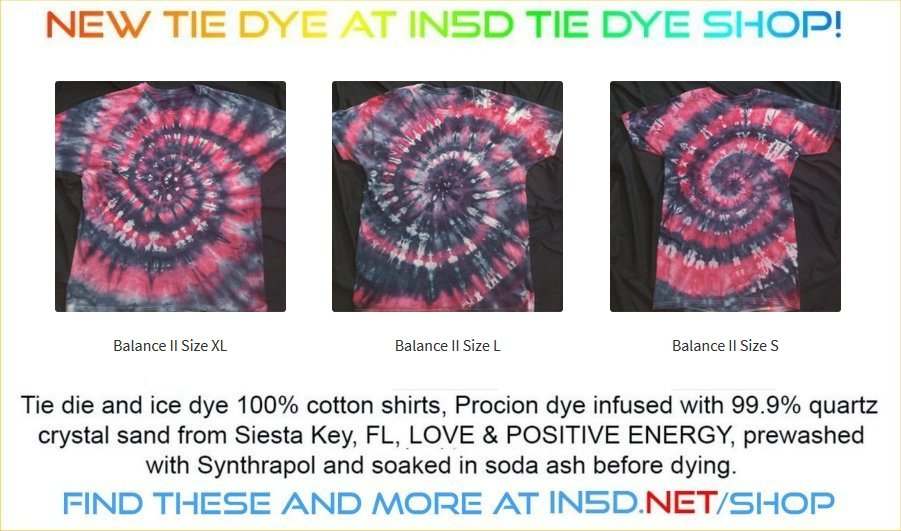 NEW Balance II Ice Dyed Shirts!