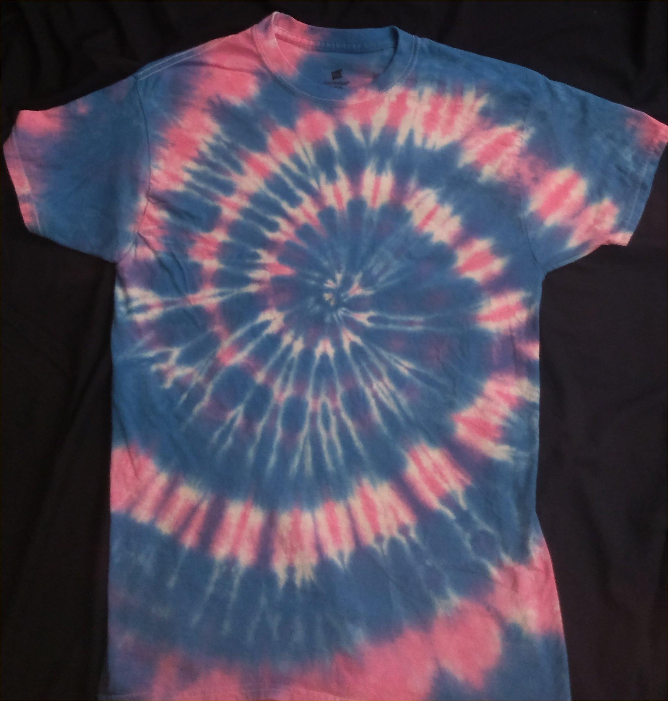 Cotton Candy Tie Dye T Shirt Size M