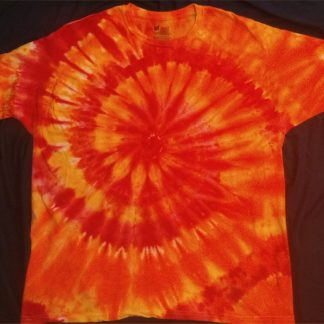 FIRE Element Lower Grounding Chakras Ice Dye Size 2XL