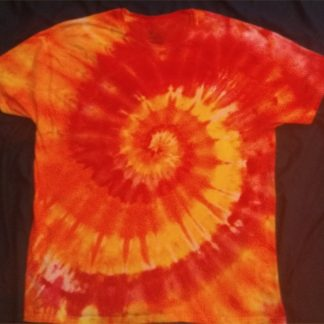 FIRE Element Lower Grounding Chakras Ice Dye Size XL