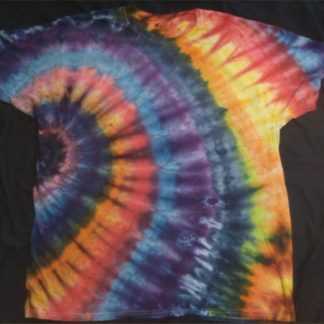 ALL Chakras Quantum Crystal & Gemstones ICE DYED 2XL