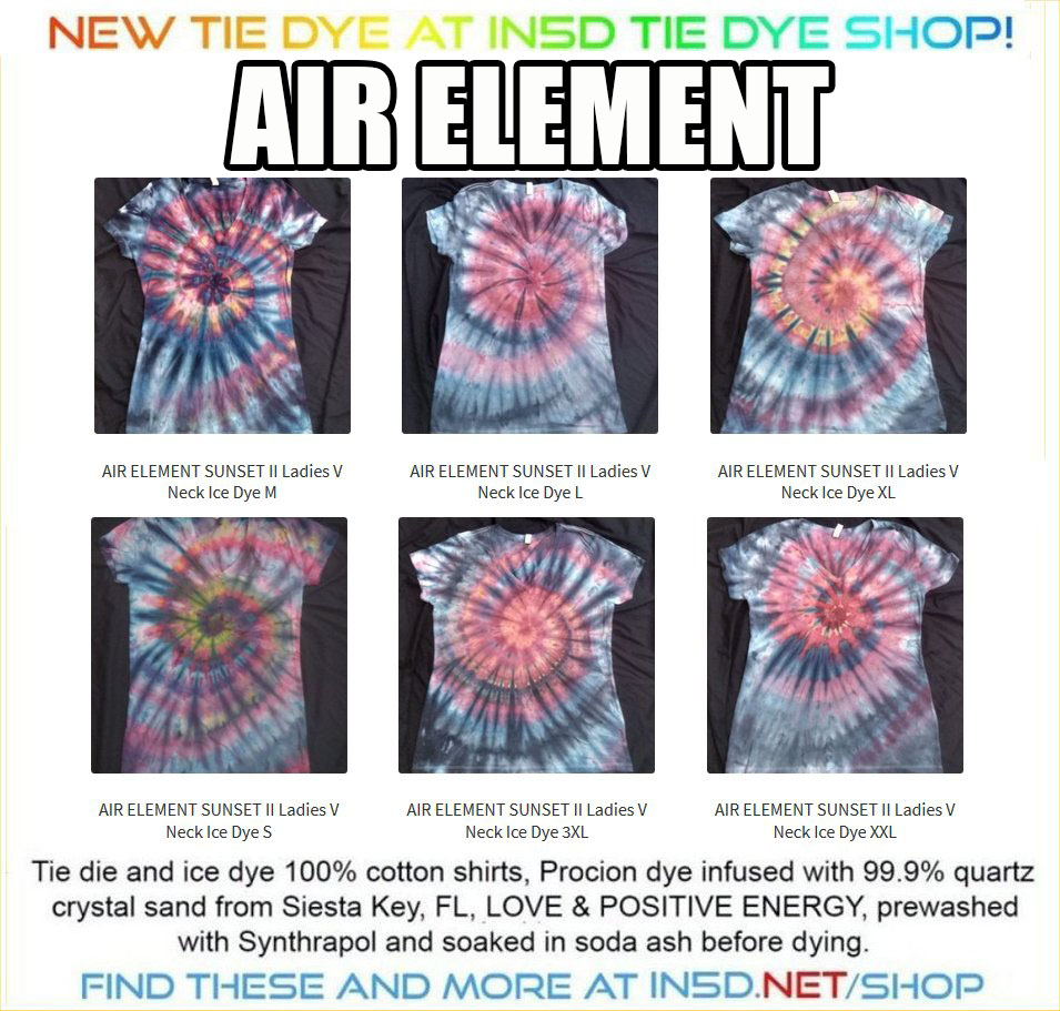 AIR ELEMENT II Ladies V Neck ALL sizes available.