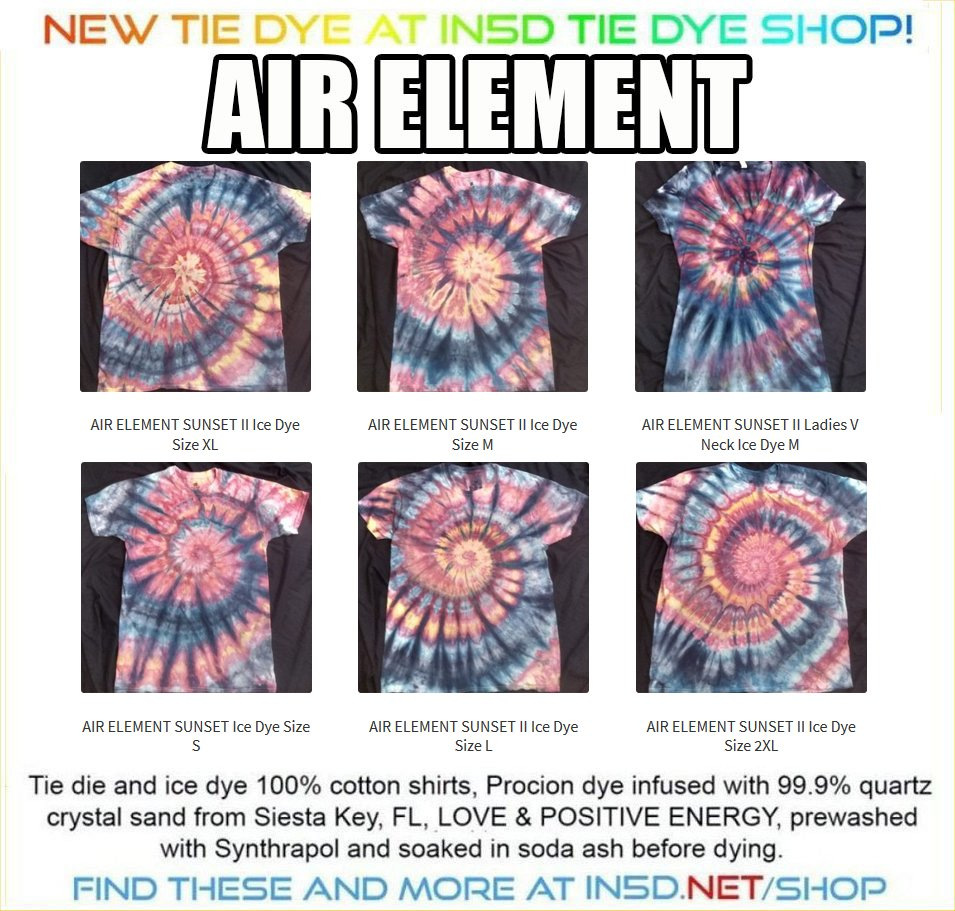 NEW Earth Element Shirts from S-2XL!