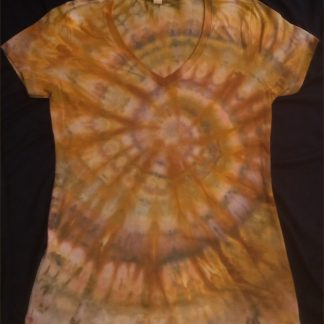 EARTH ELEMENT Ice Dye Ladies V Neck L