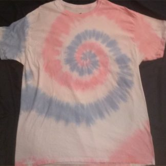Cotton Candy Tie Dye T Shirt XL