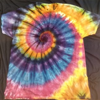 ALL Chakras Quantum Crystal & Gemstones ICE DYED Size 2XL