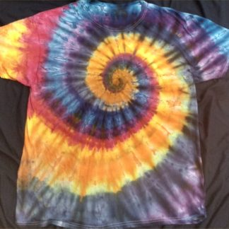 ALL Chakras Quantum Crystal & Gemstones ICE DYED Size XL