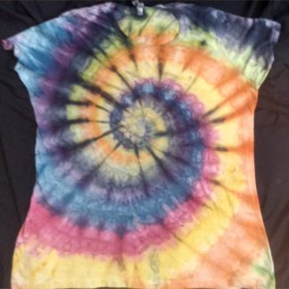 ALL Chakras Quantum ICE DYED Ladies XL