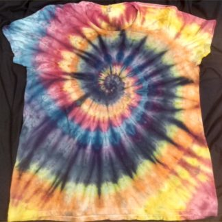ALL Chakras Quantum ICE DYED Ladies 3XL