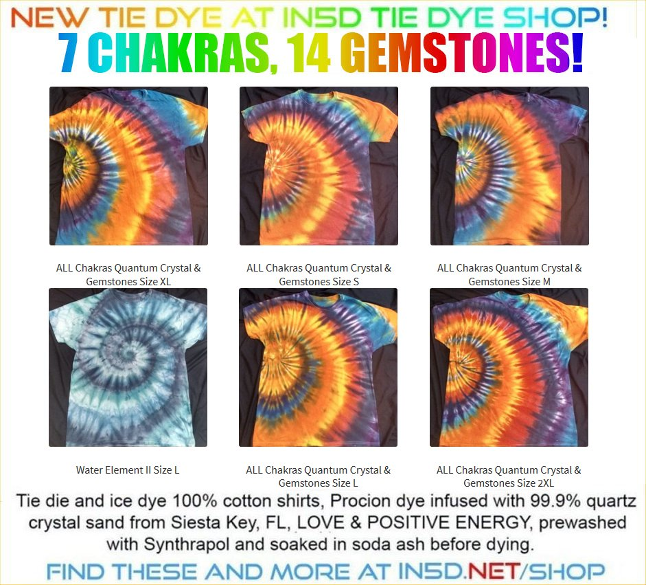 NEW 7 Chakra, 14 Gemstone Quantum Chakra Gemstone & Crystals T Shirts
