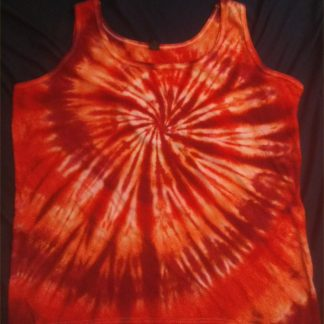 Root Chakra Ladies Quantum Crystal Tank Top 2XL