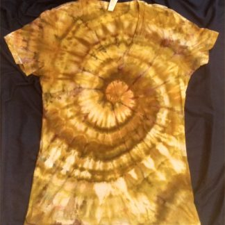 EARTH ELEMENT Ice Dye Ladies V Neck XL