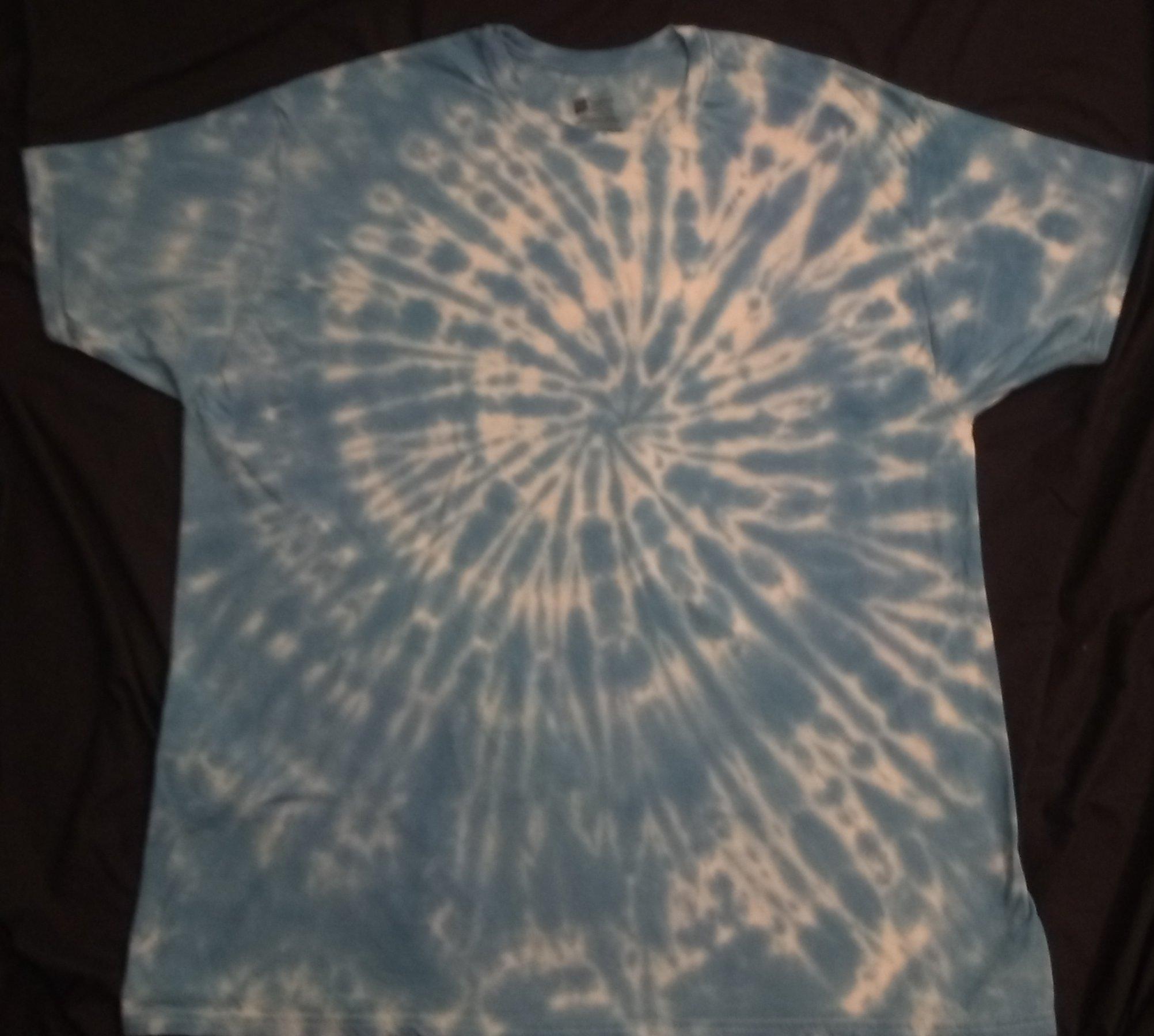 Throat Chakra Crystal Gemstone Shirt Size 2XL