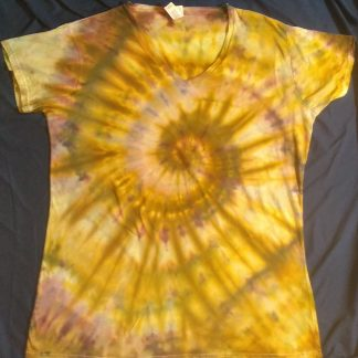 EARTH ELEMENT ICE DYE Ladies V Neck Slim Fit 3XL