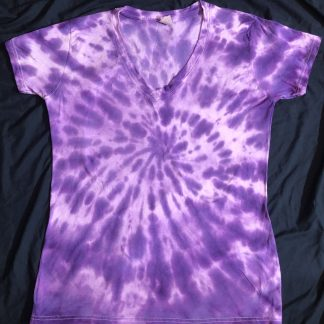 Crown Chakra Quantum Crystal & Gemstones V Neck Size 2XL